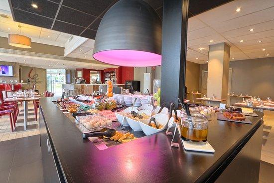 Nanterre, Frankrijk: Restaurant