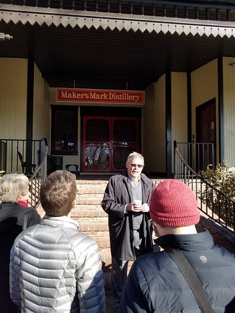 Loretto, KY: Bill Leading our Tour