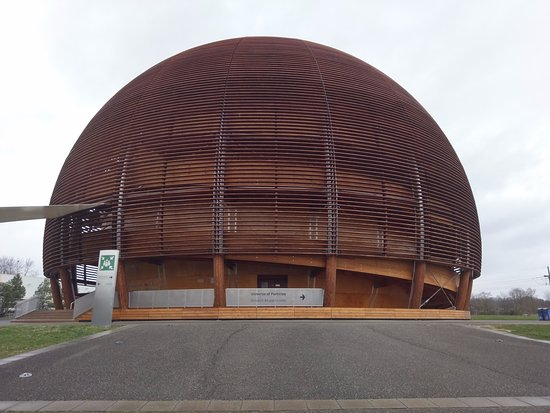 CERN Univers de particules: CERN entrance