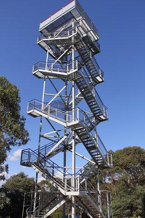 Warburton, أستراليا: The steel tower