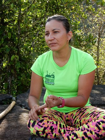 Santa Marta District, Colombia: Jeannette, super guia!!