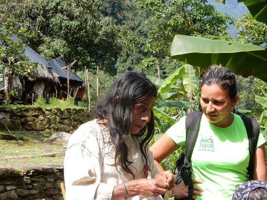 Santa Marta District, Colombia: Jeannette et le chaman