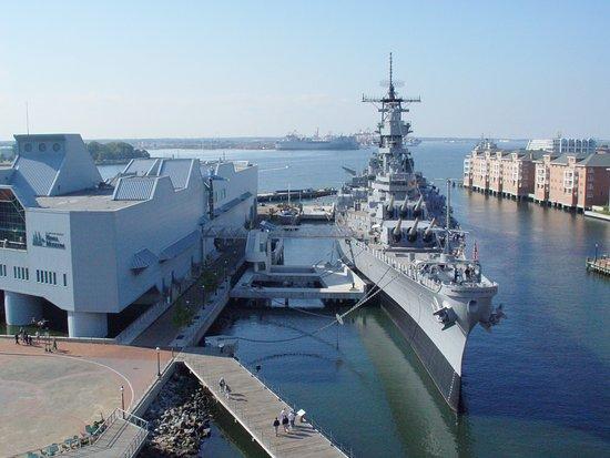 Battleship Wisconsin Tours In Norfolk