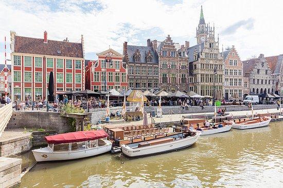 Flandern, Belgien: Graslei Ghent