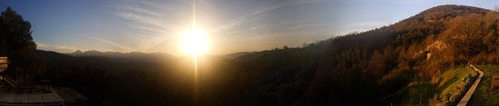 La Vall de Bianya, Spania: Amanecer