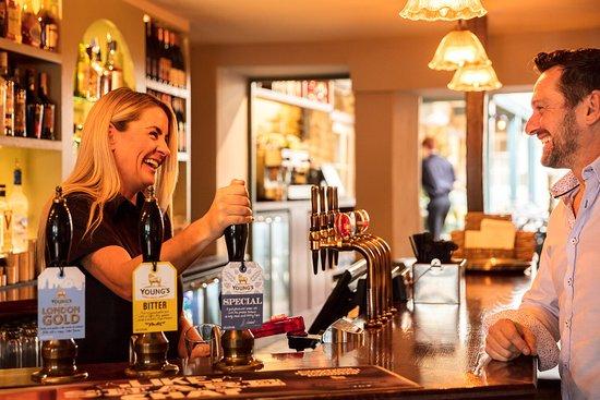 Chipping Norton, UK: Main Bar