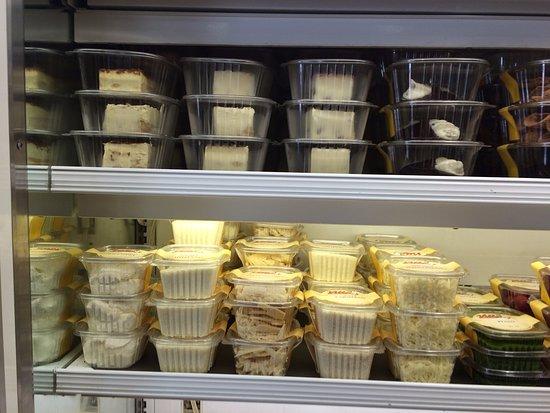 Villa Italian Specialities: Canoli, Signatue Tiramisu, Almond Torte',Italian cookie and Imported Cheeses