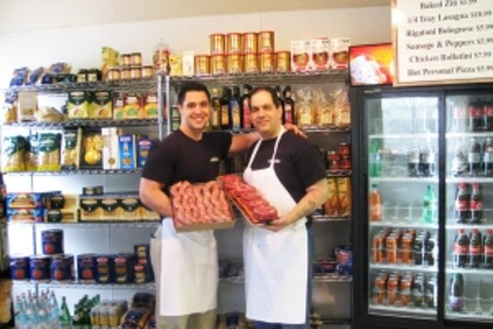 Villa Italian Specialities: Imported top quality groceries and Fresh Sausage made daily by us