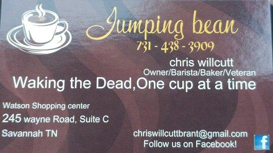 Savannah, TN: Great coffee awesome staff,