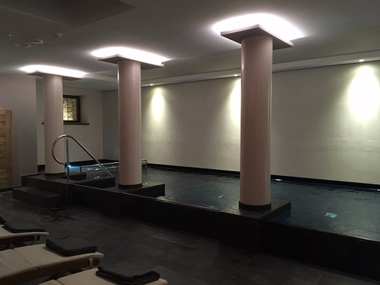 The pool in the basement Wellness Spa Picture of Albergo Caffe