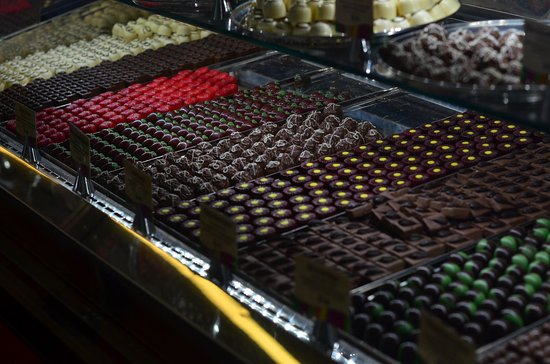 Yarra Glen, Australia: A selection of their chocolates
