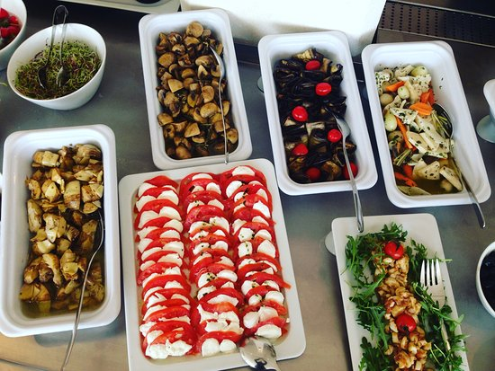 Гарга, Франция: Buffet d'antipasti