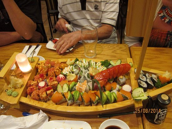 Lindsay, Canada: Superb sushi.