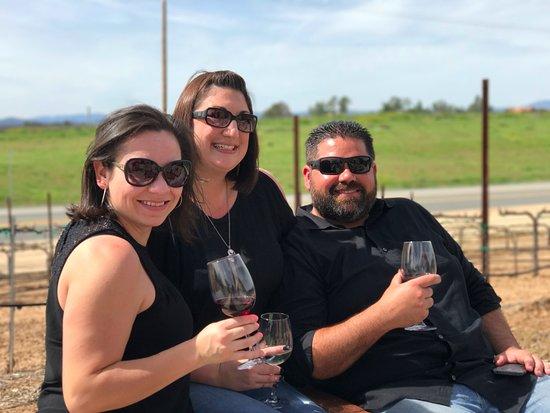 Beautiful Temecula Valley wine tasting!