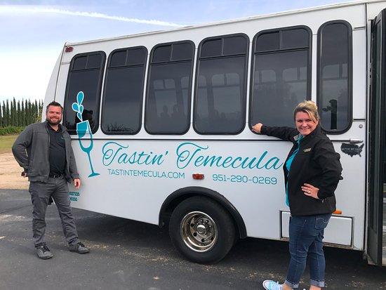 Temecula, Californië: The Bus!