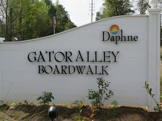 Daphne, AL: Gator Alley Boardwalk