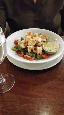 Germiston, Republika Południowej Afryki: Calamari Salad