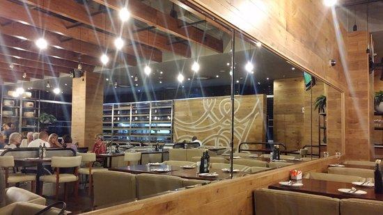 Germiston, Republika Południowej Afryki: Restaurant interior
