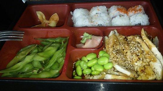Nacogdoches, TX: Teriyaki Chicken & California Roll Bento Box