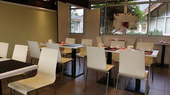 Avrille, فرنسا: Salle du petit déjeuner