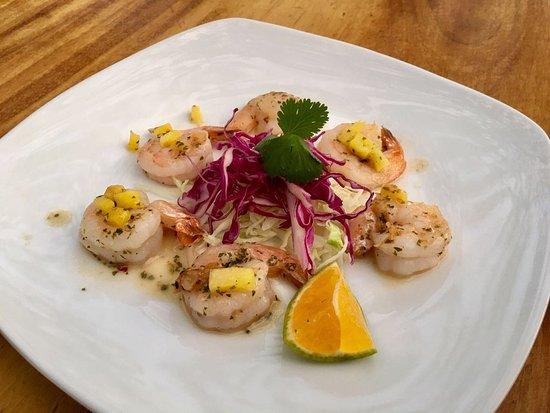 Rocamar: Shrimp Pina Colada