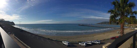 Inn at Avila Beach: view of the sun deck