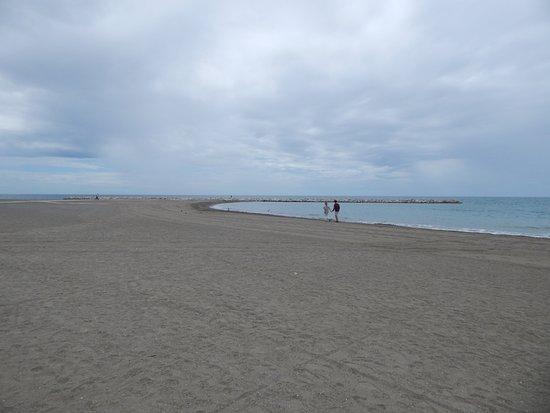 Photo of Beach Playa de La Malagueta at Malaga Urban Centre, Malaga, Spain