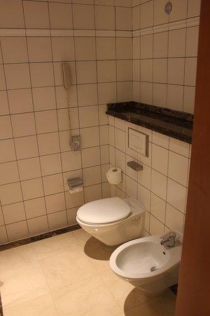 Radisson Blu Martinez Hotel, Beirut: A toilet and bidet