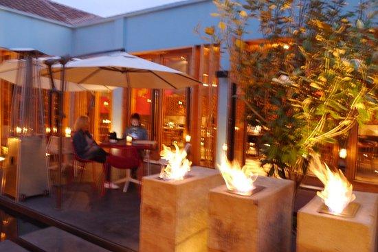Hotel Bo: terraza del restaurante