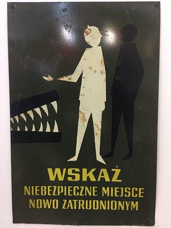 Adventure Warsaw: sign