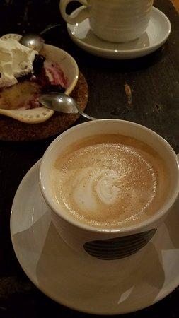 Ludlow, VT: big cappuccinos!