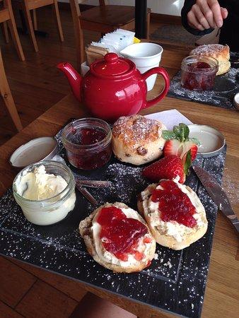 Seaton, UK: Cream tea