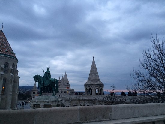 Statue of St Stephen: Bastion + Statue