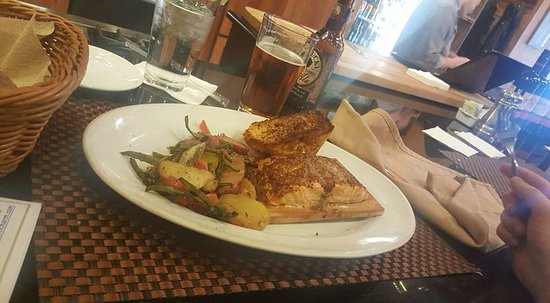 Harvest on Main : The Salmon was amazing