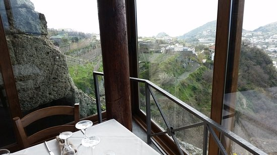 Serrara Fontana, Italien: Panorama mozzafiato !!