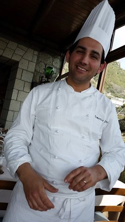 Serrara Fontana, Italy: Chef Domenico Sepe...un grande !!