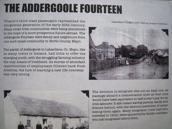 Cobh, Ireland: Account of some of the unfortunates