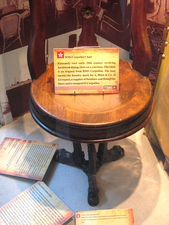 Cobh, Ireland: Original chair