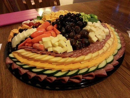 Kenosha, WI: Order a personalized party platter for your next event!