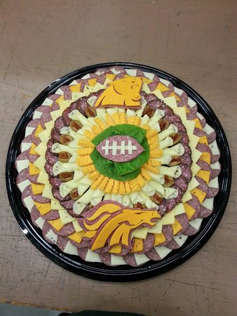 Kenosha, WI: Order a personalized party platter for any occasion...even if the Packers don't make the Superbo