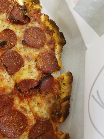"Cranky Pat's Pizza: The ""best"" part of the edges."