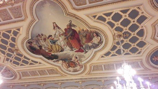 El Museo Nacional de Ceramica y de las Artes Suntuarias Gonzalez Marti : Ornate ceilings