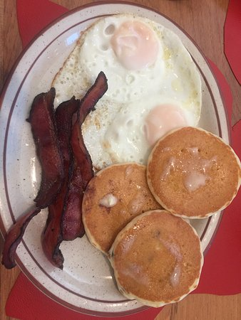 Kathie's Combo, Polly's Pancake House, Sugar Hill, NH