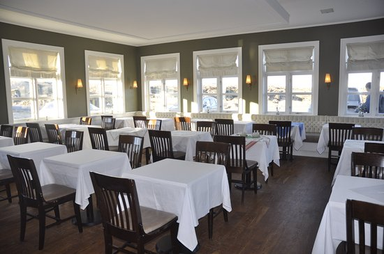Budir, Islanda: The dining room is austere but tasteful