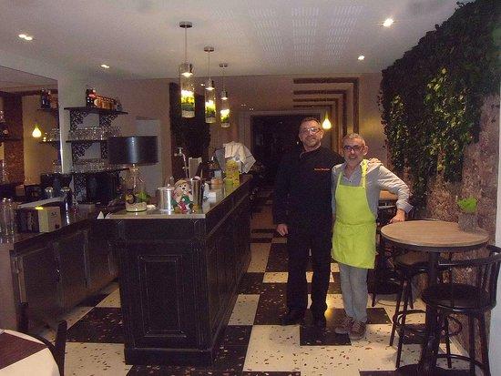 Ceret, Prancis: les deux propriétaires des lieux : Didier et Bruno