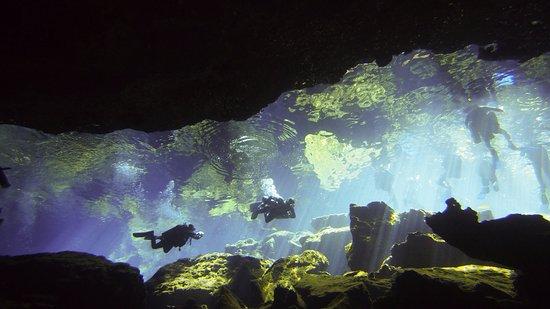 Deep Life Diving & Training : Cenote Chacmool and Kukulkan