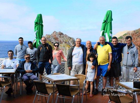 Berlenga Grande, Portugal: Depois de um bom almoço