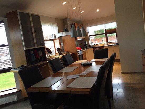 Soggiorno e cucina - Picture of Home Guesthouse, Keflavik ...