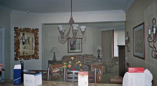 Marriotts Newport Coast Villas Dining Living Room Off Kitchen