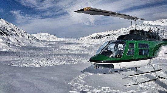 Campbell River, Canada: Mainland glacier